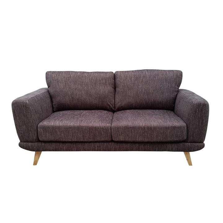 Alaska 2 Seater Sofa, Brown