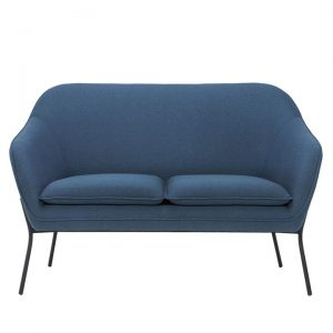 Angelica 2 Seater Sofa, Navy