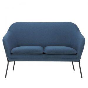 Angelica 2 Seater Sofa, Navy