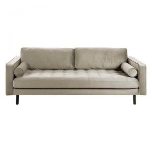 Banni 3 Seater Velvet Sofa