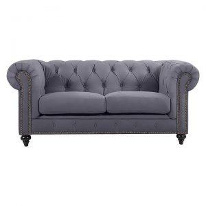 Chesterfield Velvet 2 Seater Sofa