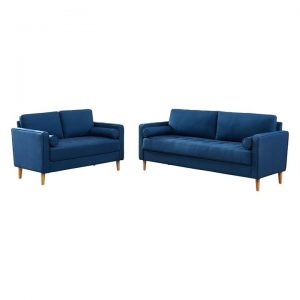 Chloe Cassandra 2-Seater and 3-Seater Sofa Set