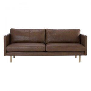 Galvao 3 Seater Sofa, Leather