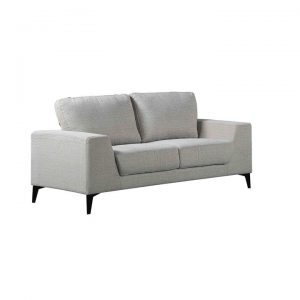 Hopper 2 Seater Sofa, Light Grey
