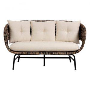 Jabar Rattan 2 Seater Sofa