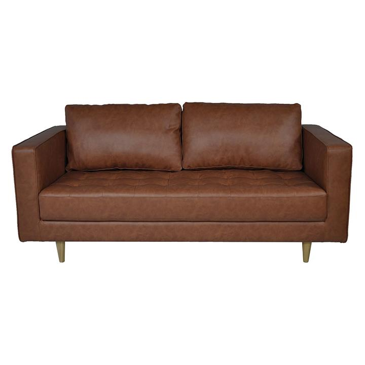 Karl 2.5 Seater Sofa, Faux Leather