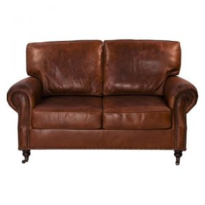 Kensington 2 Seater Leather Sofa