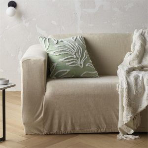 Knitted 1 to 2 Seater Stretch Sofa Cover