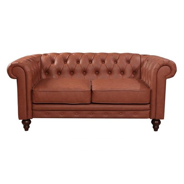 Rudi Faux Leather 2 Seater Sofa