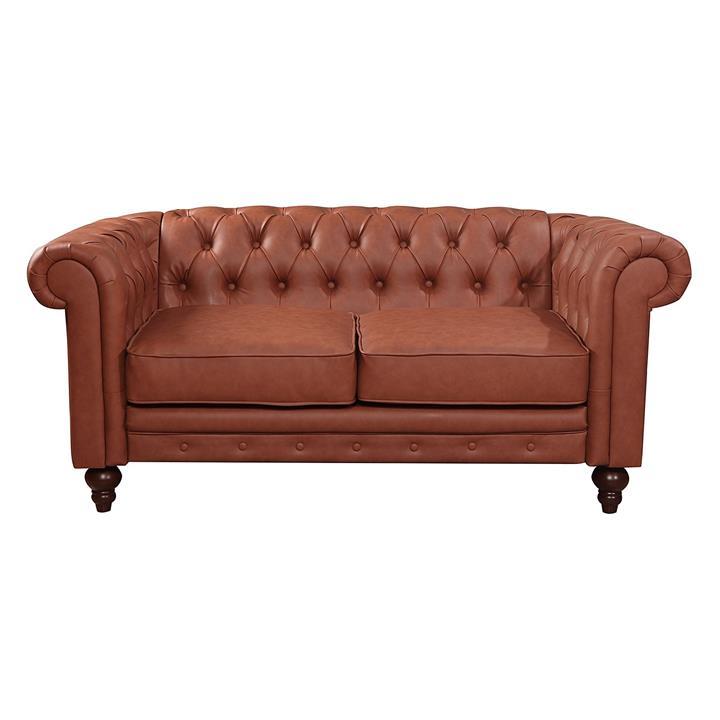 Rudi Faux Leather 2 Seater Sofa