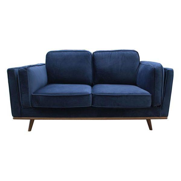 Tacoma 2 Seater Sofa, Blue
