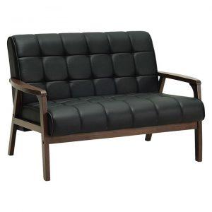 Tello 2 Seater Sofa, Espresso