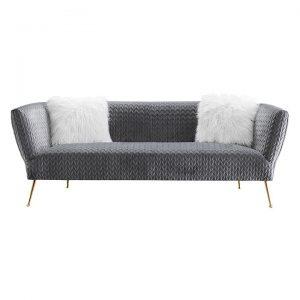 Zeta Velvet 3-Seater Sofa